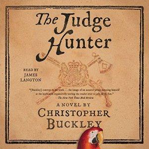 The Judge Hunter audiobook cover art