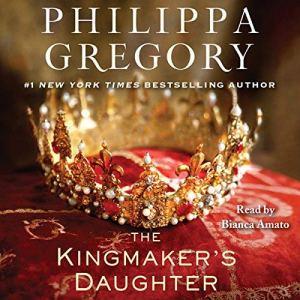 The Kingmaker's Daughter audiobook cover art
