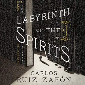 The Labyrinth of the Spirits audiobook cover art