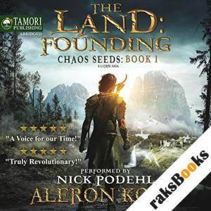 The Land: Founding: A LitRPG Saga audiobook cover art