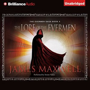 The Lore of the Evermen audiobook cover art
