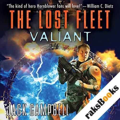 The Lost Fleet: Valiant audiobook cover art
