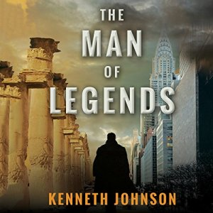 The Man of Legends audiobook cover art