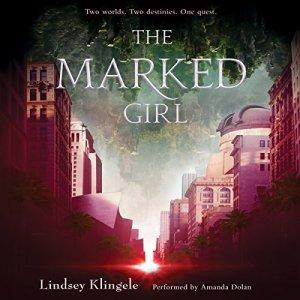 The Marked Girl audiobook cover art