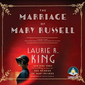 The Marriage of Mary Russell audiobook cover art