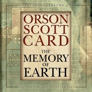 The Memory of Earth audiobook cover art