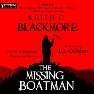 The Missing Boatman audiobook cover art