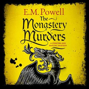 The Monastery Murders audiobook cover art