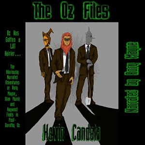 The Oz Files audiobook cover art
