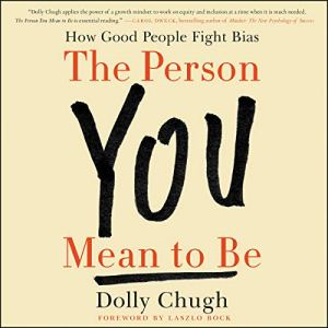 The Person You Mean to Be audiobook cover art