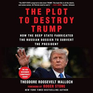 The Plot to Destroy Trump audiobook cover art