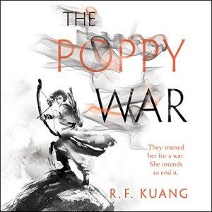 The Poppy War audiobook cover art