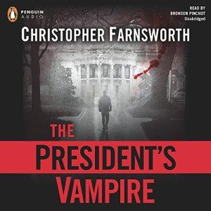 The President's Vampire audiobook cover art