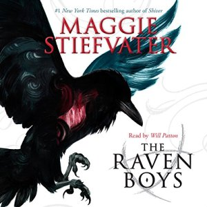 The Raven Boys audiobook cover art
