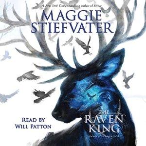 The Raven King audiobook cover art