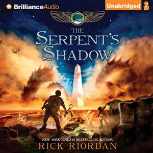 The Serpent's Shadow: The Kane Chronicles, Book 3 audiobook cover art