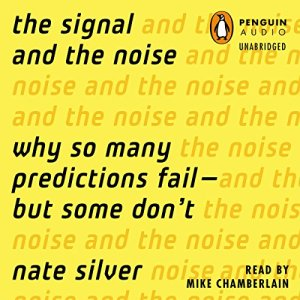 The Signal and the Noise audiobook cover art