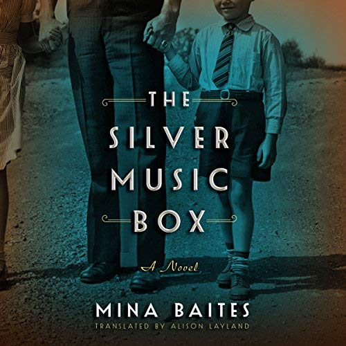 The Silver Music Box audiobook cover art