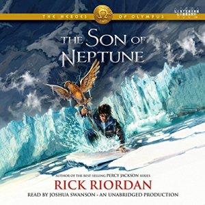The Son of Neptune audiobook cover art