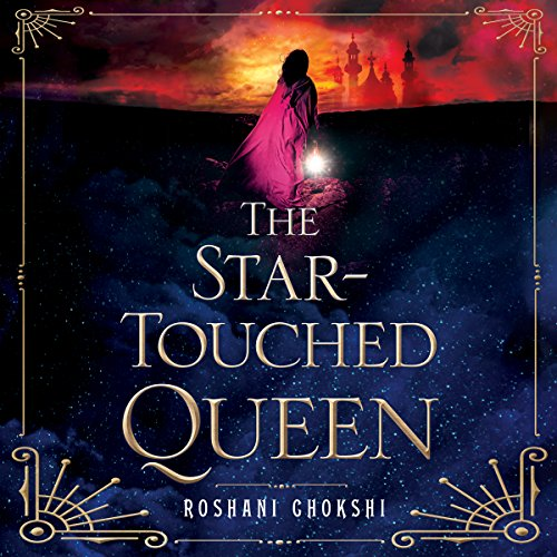 The Star-Touched Queen audiobook cover art
