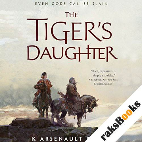 The Tiger's Daughter audiobook cover art