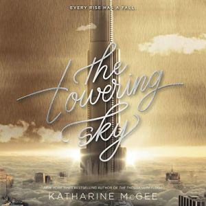 The Towering Sky audiobook cover art