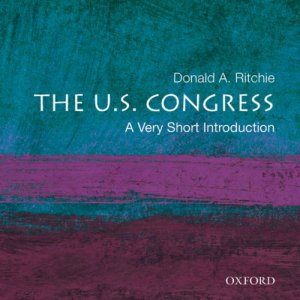 The U.S. Congress: A Very Short Introduction audiobook cover art