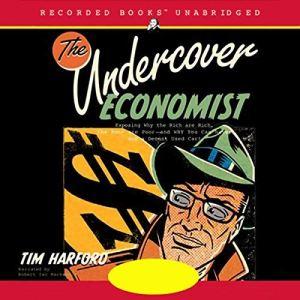 The Undercover Economist audiobook cover art