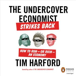 The Undercover Economist Strikes Back audiobook cover art