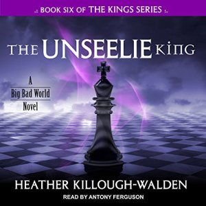 The Unseelie King audiobook cover art