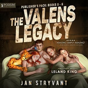 The Valens Legacy: Publisher's Pack 3 audiobook cover art