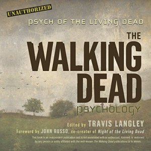 The Walking Dead Psychology audiobook cover art