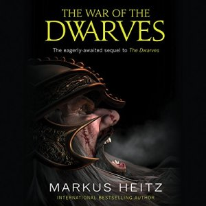 The War of the Dwarves audiobook cover art