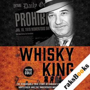 The Whisky King audiobook cover art
