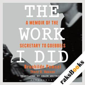 The Work I Did audiobook cover art