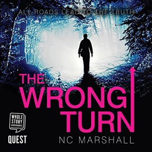 The Wrong Turn audiobook cover art