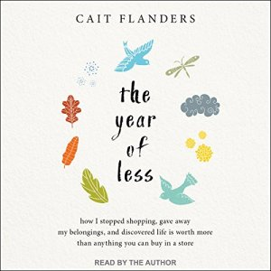The Year of Less audiobook cover art