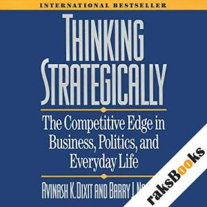 Thinking Strategically audiobook cover art