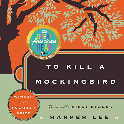 To Kill a Mockingbird audiobook cover art