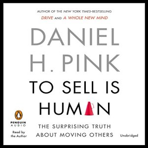 To Sell Is Human audiobook cover art