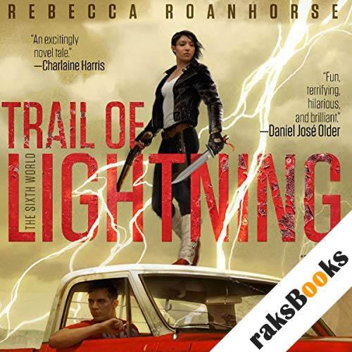 Trail of Lightning audiobook cover art
