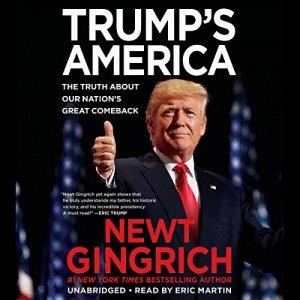 Trump's America audiobook cover art