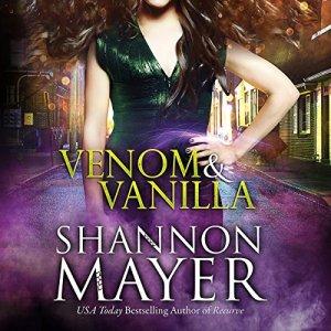 Venom & Vanilla audiobook cover art