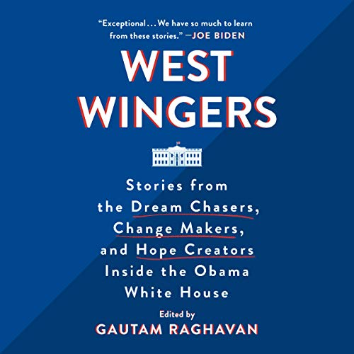 West Wingers audiobook cover art
