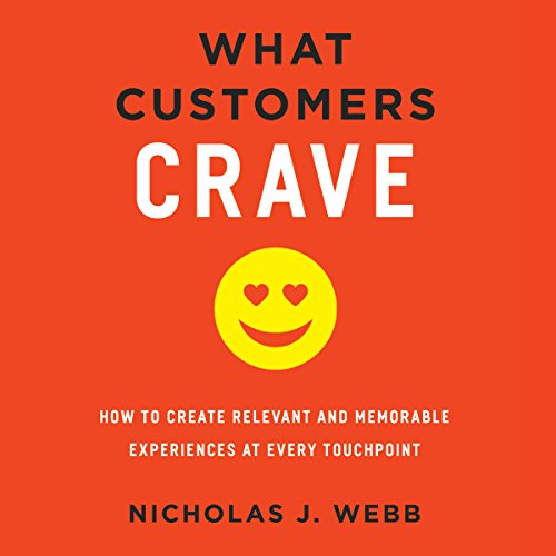 What Customers Crave audiobook cover art