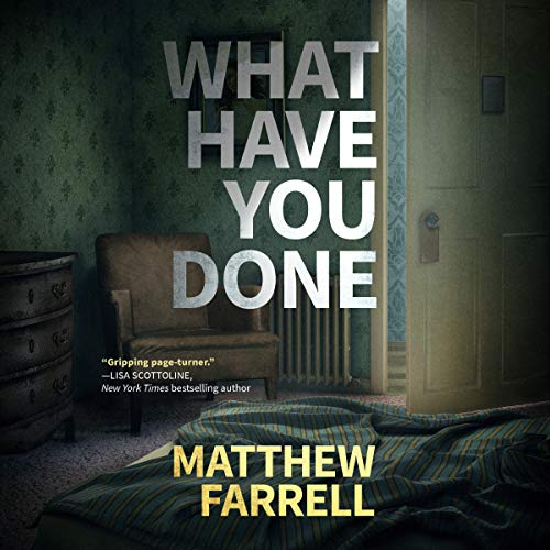 What Have You Done audiobook cover art