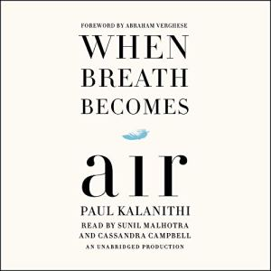 When Breath Becomes Air audiobook cover art