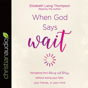 "When God Says ""Wait"" audiobook cover art"