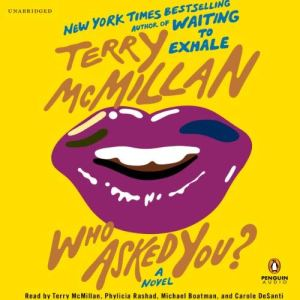 Who Asked You? audiobook cover art
