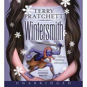 Wintersmith audiobook cover art